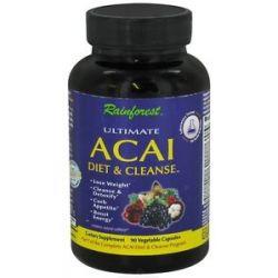 Rainforest Ultimate Acai Diet Cleanse with Caralluma Fimbriata 90 743650001972