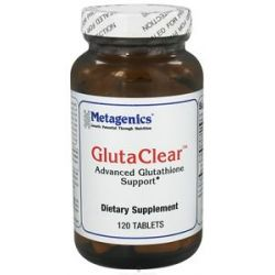Metagenics Glutaclear Advanced Glutathione Support 120 Tablets 755571927941