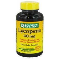 Good 'N Natural Lycopene Once Daily Formula 40 MG 60 Softgels