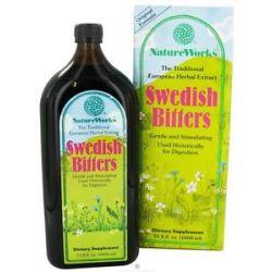 Natureworks Swedish Bitters Original Extract Formula 33 8 Oz 020065100033