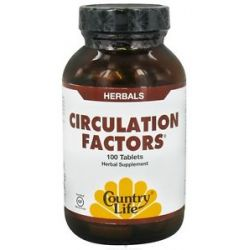 Country Life Circulation Factors 100 Tablets formerly Biochem