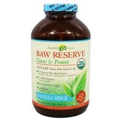 Amazing Grass Raw Reserve Greens Protein Vanilla Spice 9 2 Oz