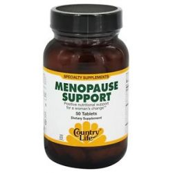 Country Life Menopause Support 50 Tablets formerly Biochem 015794016076