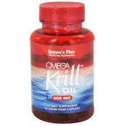 Nature's Plus Omega Krill Oil 600 MG 60 Capsules