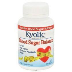 Kyolic Aged Garlic Extract Blood Sugar Balance 100 Capsules