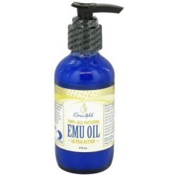 Emu Gold 100 All Natural Emu Oil Ultra Active 4 Oz