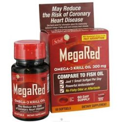 Schiff Mega Red Omega 3 Krill Oil 300 MG 60 Softgels 020525104861