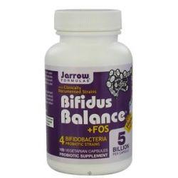 JARROW Formulas Bifidus Balance FOS 100 Vegetarian Capsules