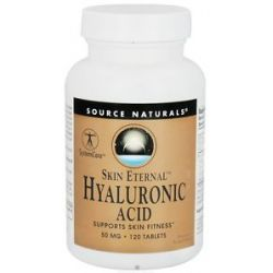 Source Naturals Skin Eternal Hyaluronic Acid 50 MG 120 Tablets