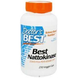 Doctor's Best Best Nattokinase 2000 Fu 270 Vegetarian Capsules