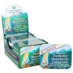 St Claire's Organics Organic Tummy Soothers Aromatherapy Pastilles 1 44 Oz