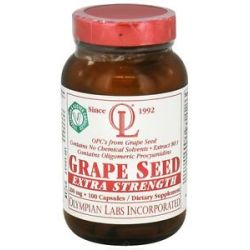 Olympian Labs Grape Seed Extra Strength 200 MG 100 Vegetarian Capsules