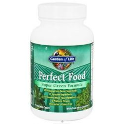 Garden of Life Perfect Food Super Green Formula 75 Vegetarian Caplet S