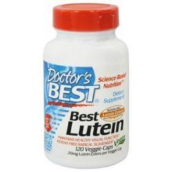 Doctor 039 s Best Best Lutein from Marigold Extract 120 Vegetarian Caplet S