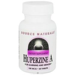 Source Naturals Huperzine A for Learning and Memory 100 mcg 60 Tablet S