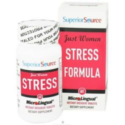 Superior Source Just Women Stress Formula Instant Dissolve 60 Tablets