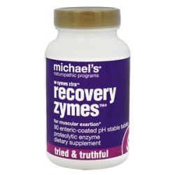 Michael's Naturopathic Programs w Zymes Xtra Recovery Zymes 90 Tablets