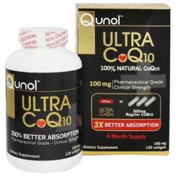 Qunol Ultra CoQ10 100 MG 120 Softgels