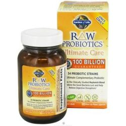 Garden of Life Raw Probiotics Ultimate Care 34 Probiotic Strains 30
