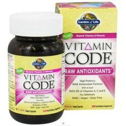Garden of Life Vitamin Code Raw Antioxidants 30 Vegetarian Capsules