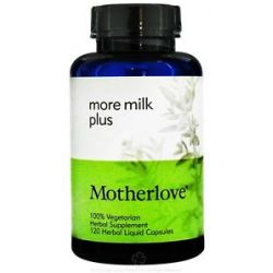 Motherlove More Milk Plus 120 Vegetarian Capsules