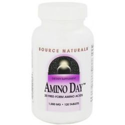 Source Naturals Amino Day 1000 MG 120 Tablets