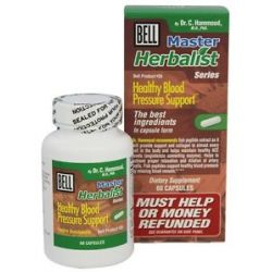 Bell Lifestyle Master Herbalist Series 26 Healthy Blood Pressure Support 60