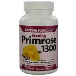 JARROW Formulas Evening Primrose Oil 1300 MG 60 Softgels