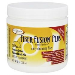 Enzymatic Therapy Fiber Fusion Plus Drink Mix Luscious Lemon Flavored 6 Oz 763948084524