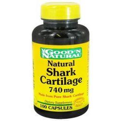 Good 'N Natural Shark Cartilage 740 MG 100 Capsules