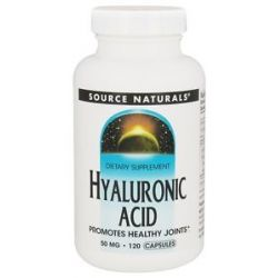 Source Naturals Hyaluronic Acid 50 MG 120 Capsules