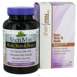 Shen MIN Hair Skin Nail Formula for Women 90 Tablets 733530240003