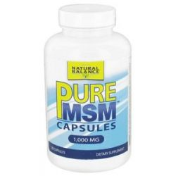 Natural Balance Pure MSM 1000 MG 120 Capsules formerly Trimedica 744665001346