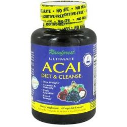 Rainforest Ultimate Acai Diet Cleanse with Caralluma Fimbriata 45 743650001972