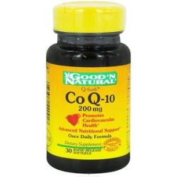 Good 'N Natural Coq 10 200 MG 30 Softgels