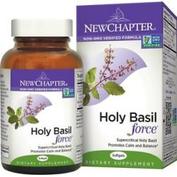 New Chapter Holy Basil Force 60 Softgels 727783005502