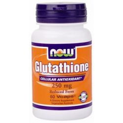 Now Foods Glutathione 250 MG 60 Capsules
