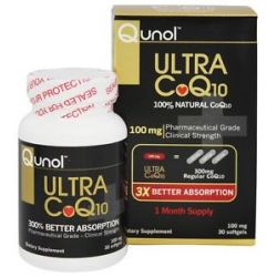 Qunol Ultra CoQ10 100 MG 30 Softgels