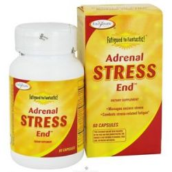 Enzymatic Therapy Fatigued to Fantastic Adrenal Stress End 60 Capsules