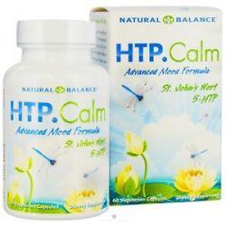 Natural Balance HTP Calm 60 Vegetarian Capsules
