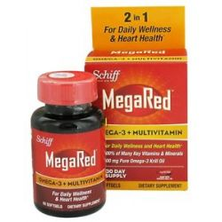 Schiff Megared Omega 3 Multivitamin 60 Softgels 020525104861