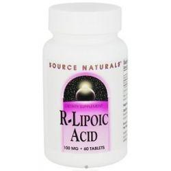 Source Naturals R Lipoic Acid 100 MG 60 Tablets