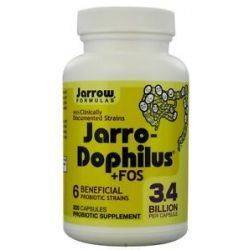 JARROW Formulas Jarro Dophilus FOS 200 Capsules