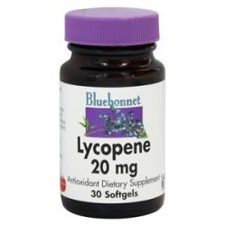 Bluebonnet Nutrition Lycopene 20 MG 30 Softgels
