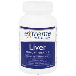 Extreme Health USA Liver Support Formula 90 Capsules formerly Liver Cellular