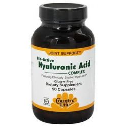 Country Life Bio Active Hyaluronic Acid Complex Featuring Clinically Proven