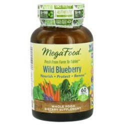 MegaFood Wild Blueberry 60 Chewable Tablets 051494102336