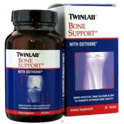 Twinlab Bone Support with Ostivone 60 Tablets