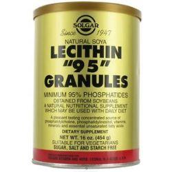 Solgar Lecithin 95 Granules 16 Oz