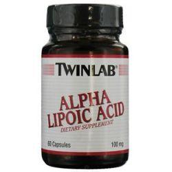 Twinlab Alpha Lipoic Acid 100 MG 60 Capsules